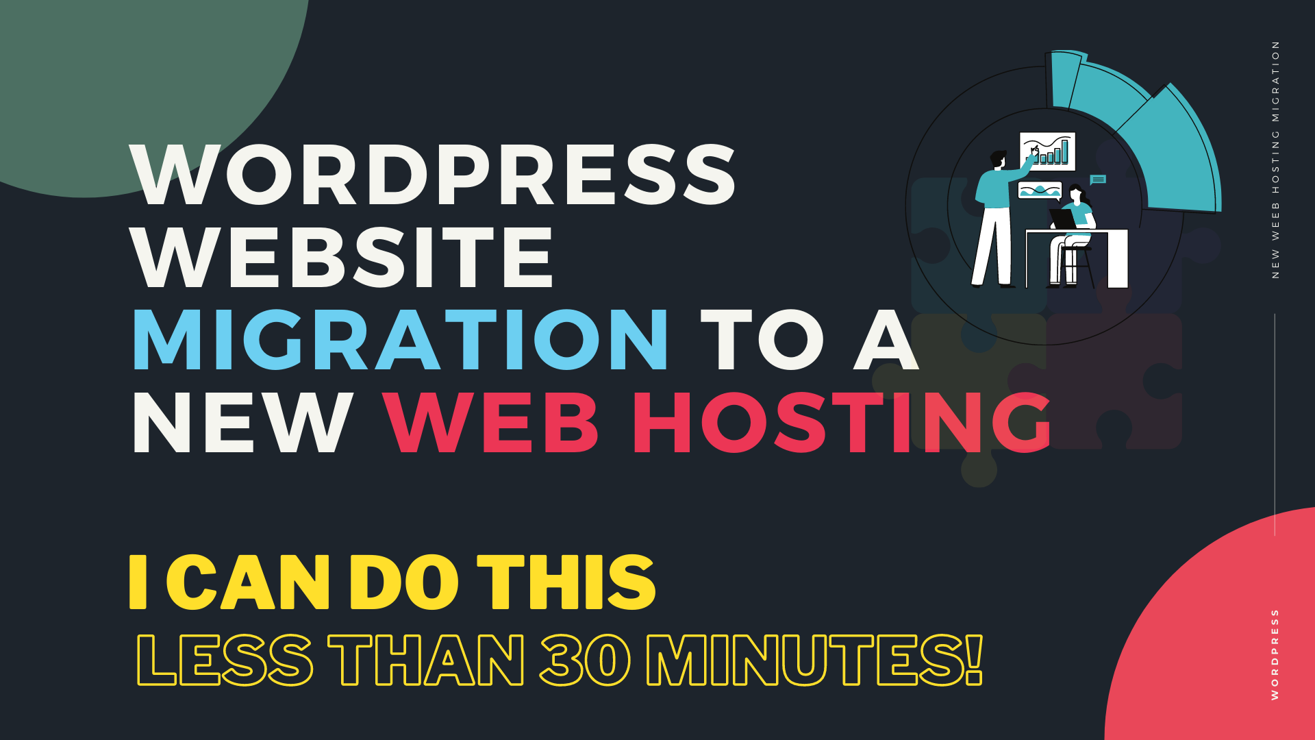 I will migrate your wordpress site to your new web hosting