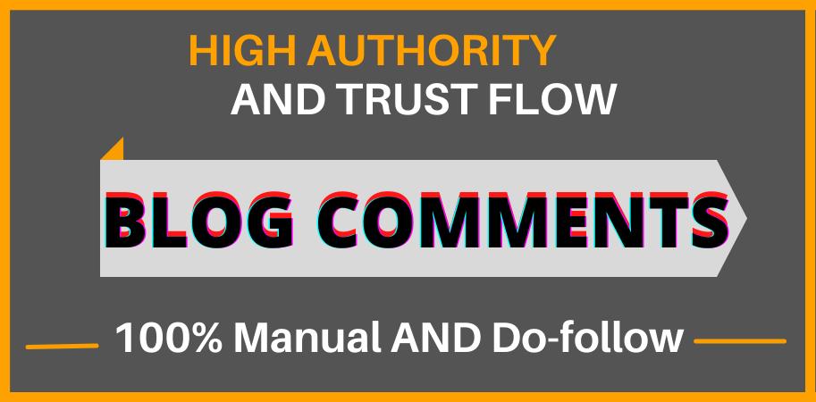 I Will Build 50 Do follow Blog Comment Backlinks