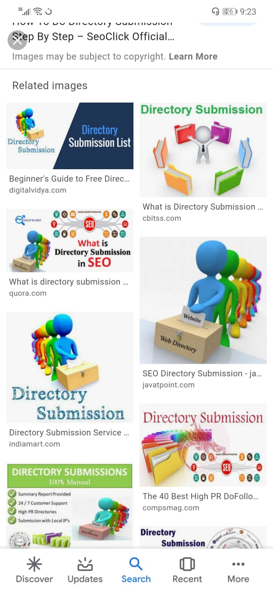 400 Directory Submission within 24 hours with proof