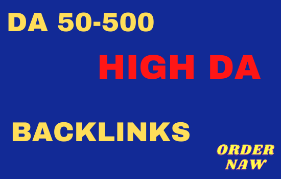 I will do high quality SEO dofollow backlinks and link building service