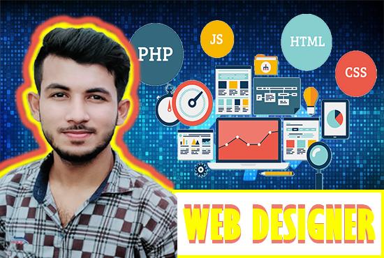 Hi I am a Web Designer And Developer.