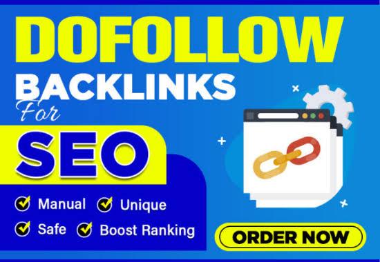 I will do create 75 manual dofollow backlinks with high DAPA