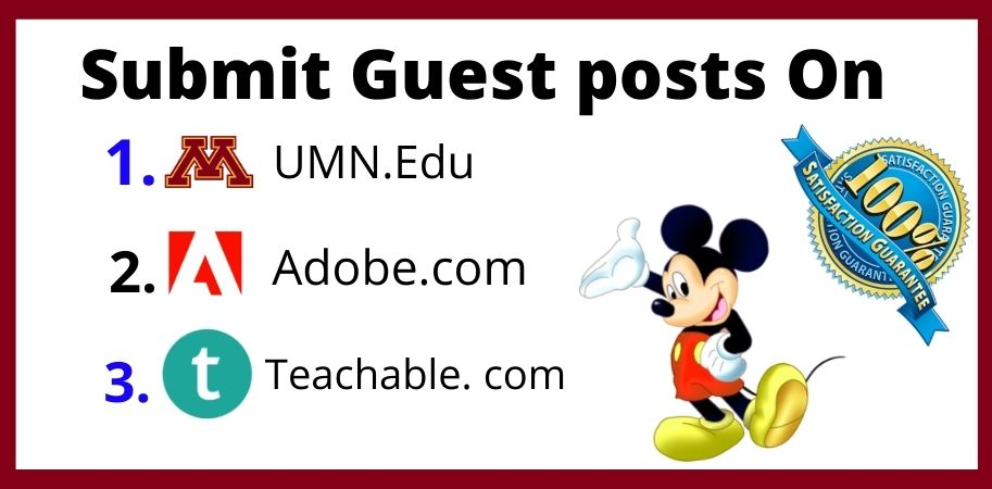 High quality edu guest posts on high DA PA blog.