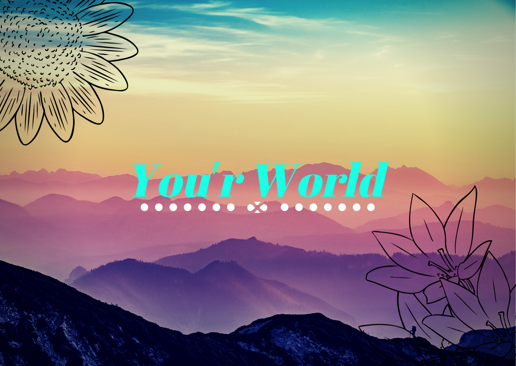 Wallpaper to your website or blog