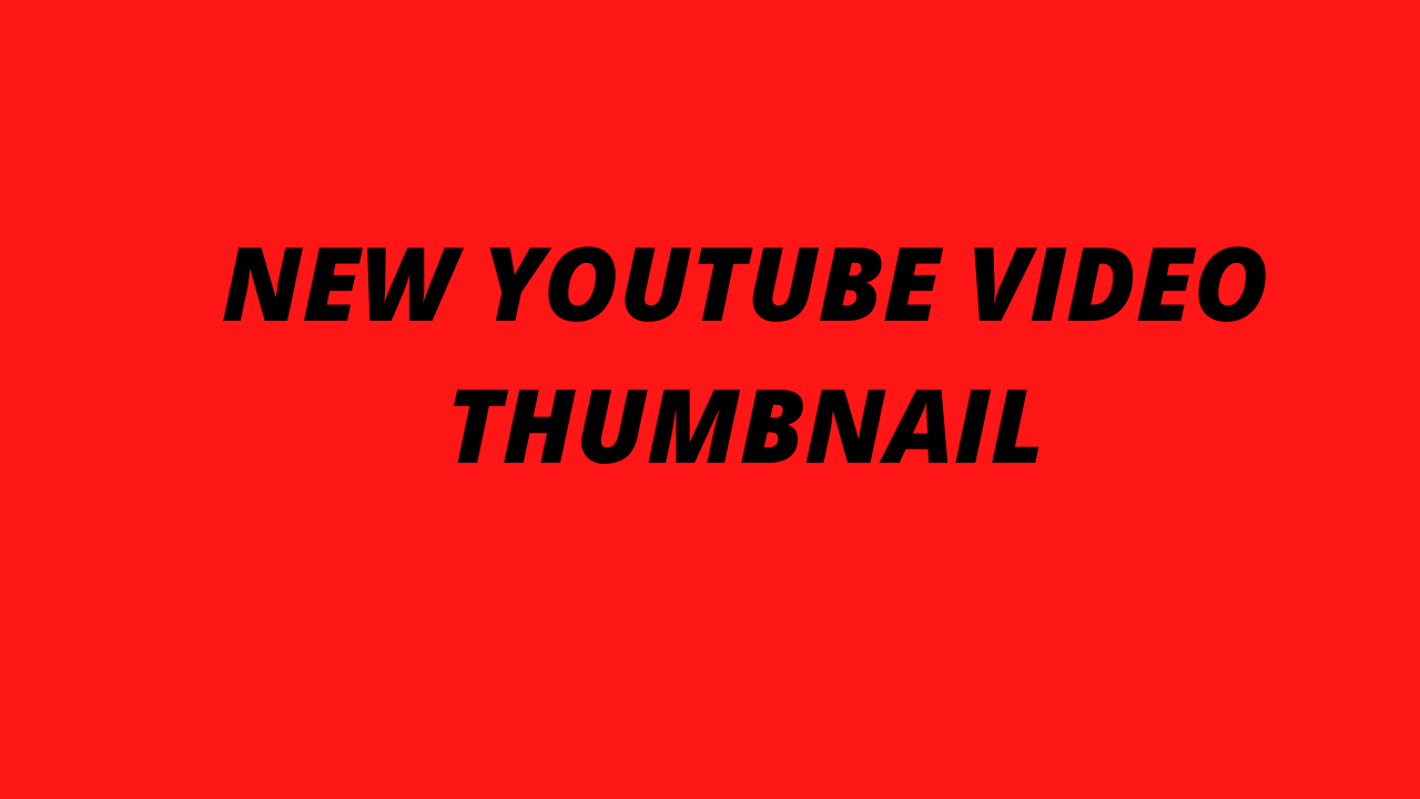 I will create attractive youtube thumbnail design