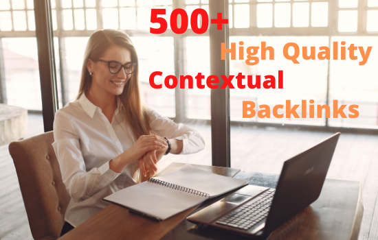 I will build 500+ SEO contextual back links tiered and Google ranking