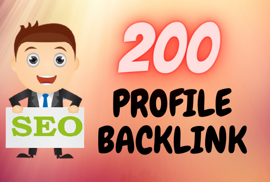 I will build up high DA profile backlink to rank your website