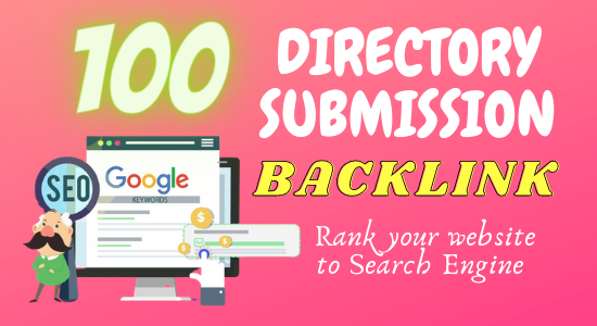 I will build up 50 web directory submission backlink to all high DA PA site