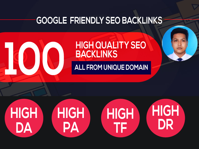 I Can Build 100 Backlink,  web 2.0,  and Dofollow with high DA/PA in your webpage with a unique websit