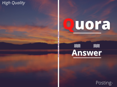Promote Your Website High Quality 10+Quora Answer Backlinks with contextual link