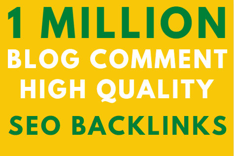 1 million GSA blog comment High Authority Backlink on google Ranking