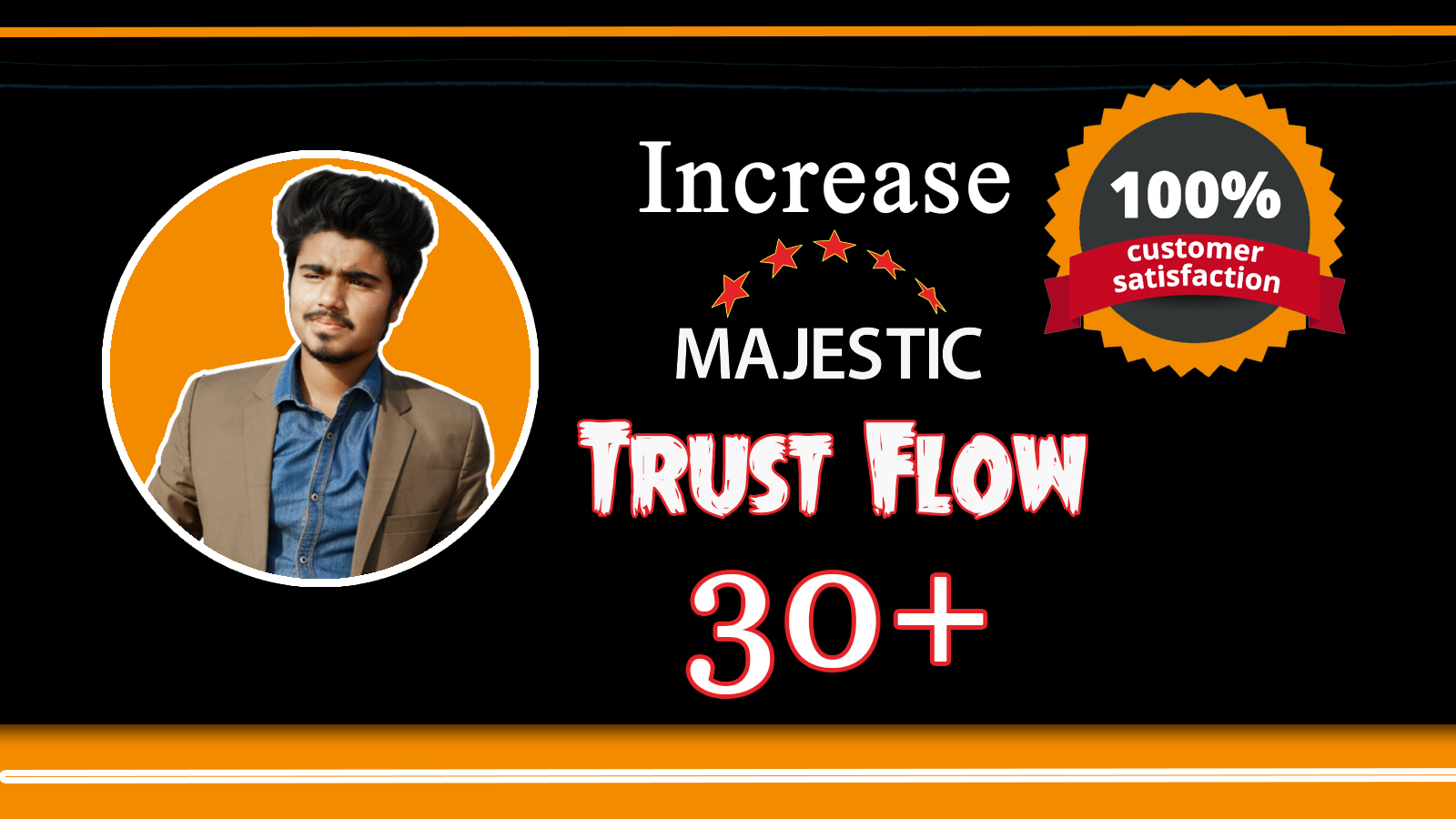 increase majestic trust flow tf 30 plus with best strategy