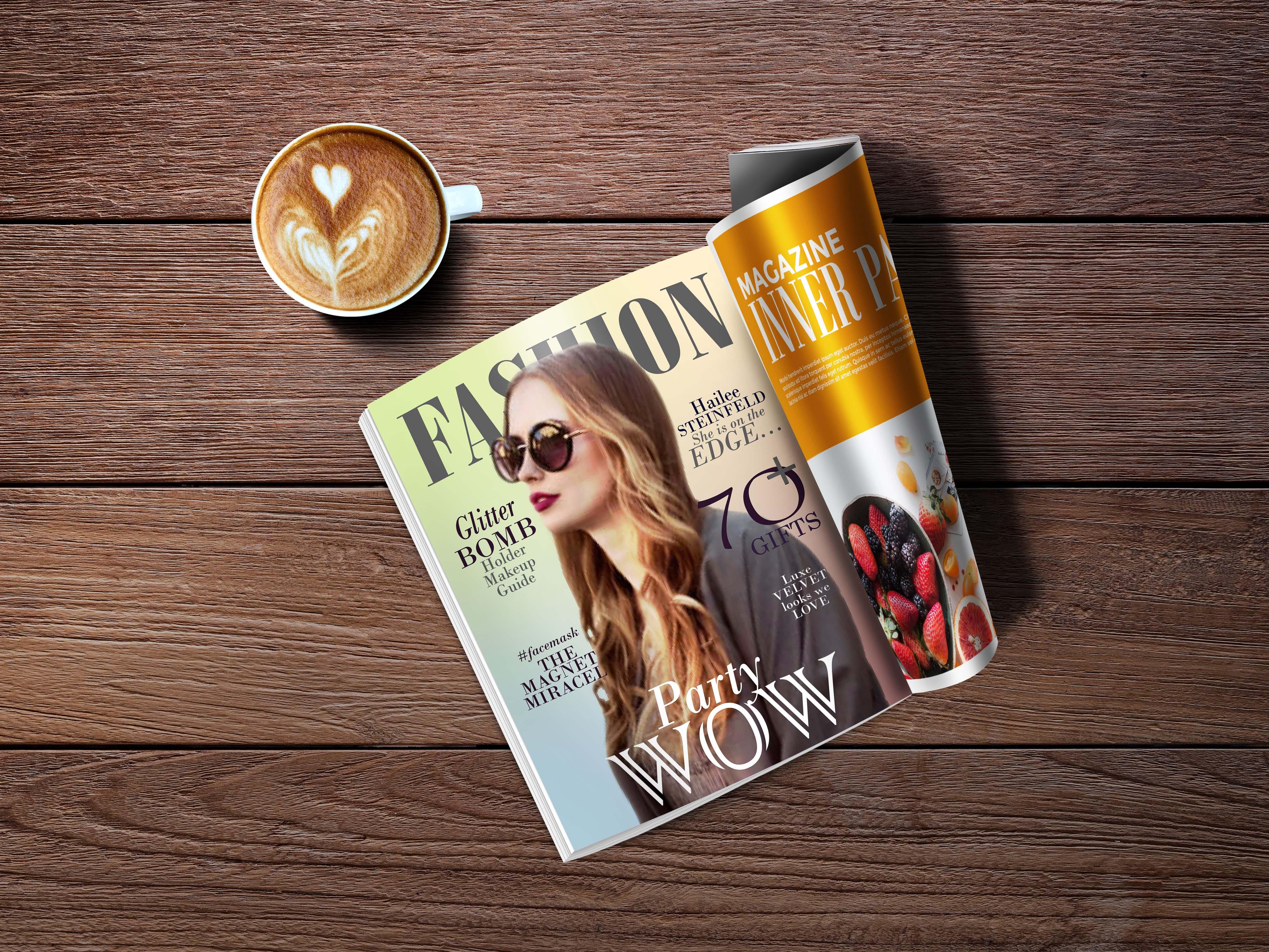 I will design attractive magazine