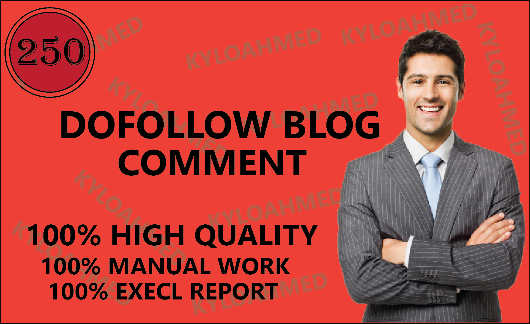 I will create 250 dofollow blog comment seo services backlinks
