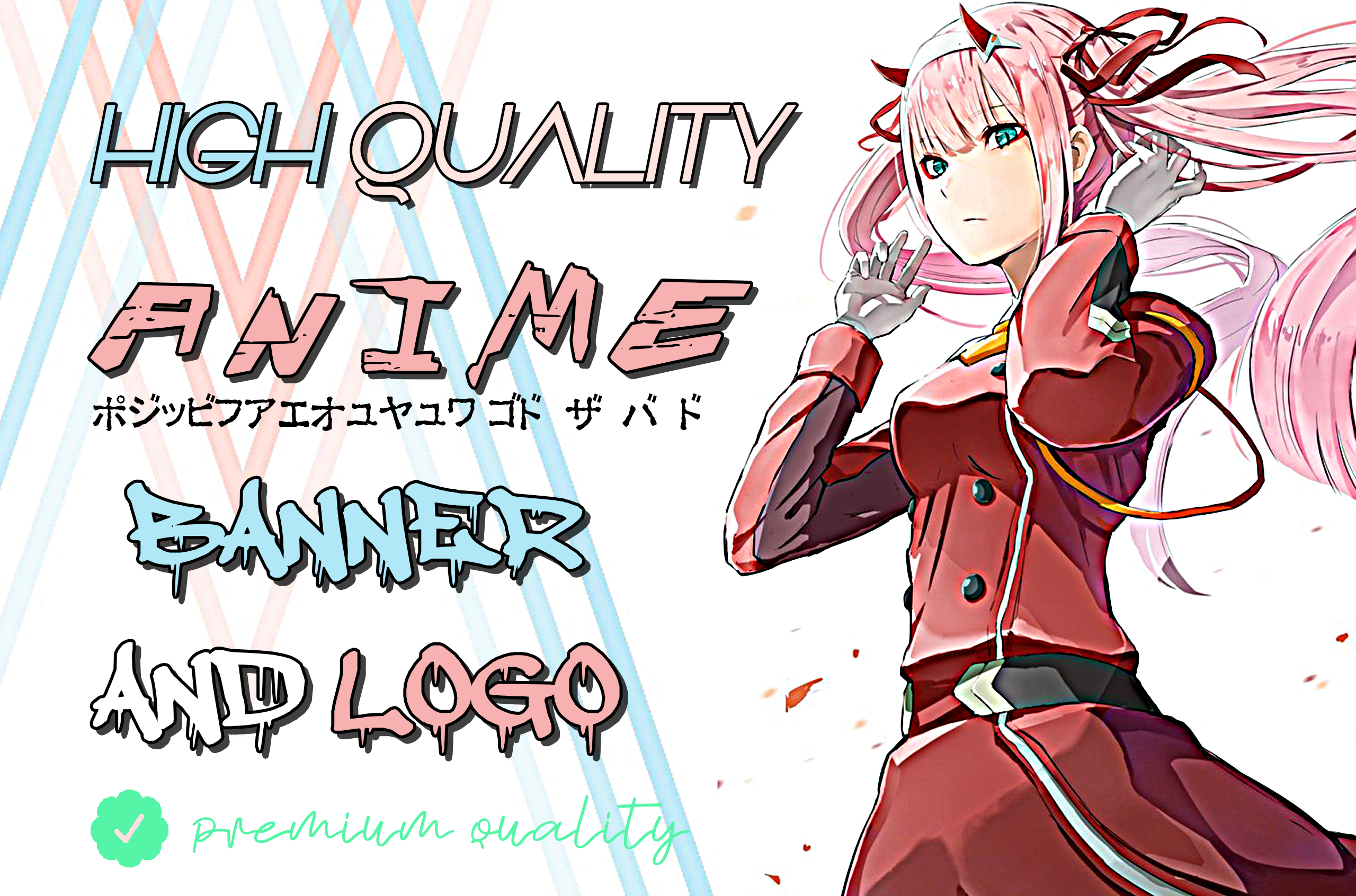 I will design unique gaming or anime banner for youtube,  twitch etc