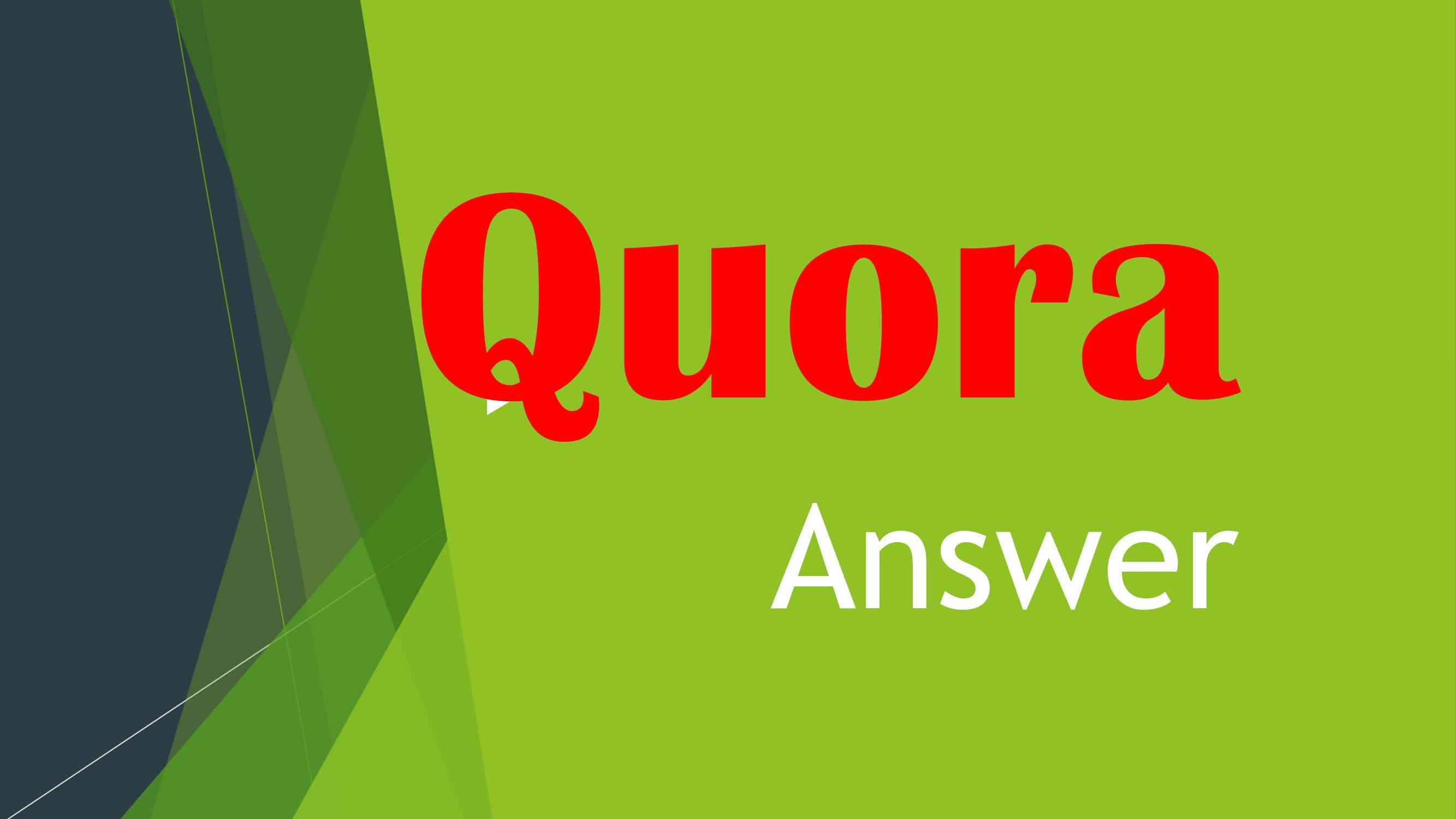 Promote Your Site with High Quality 3 Quora Answer posting