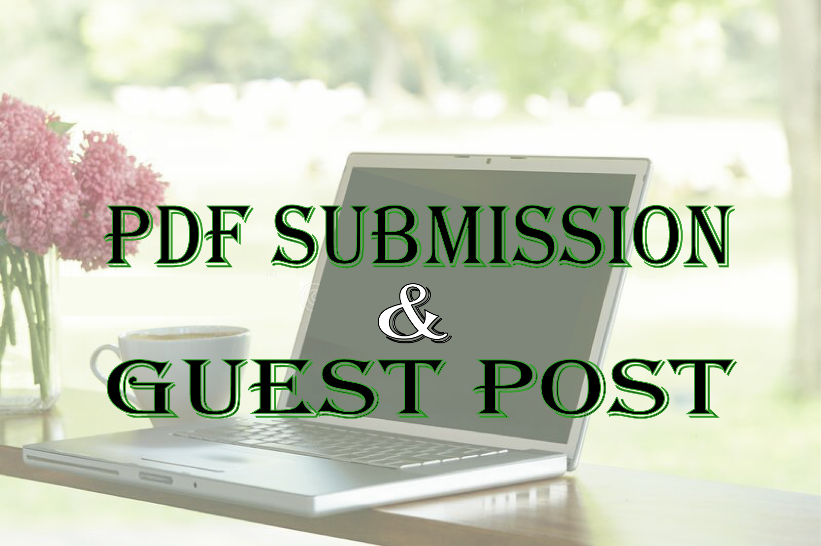 I will provide 5 Pdf Submission and 5 Guest post