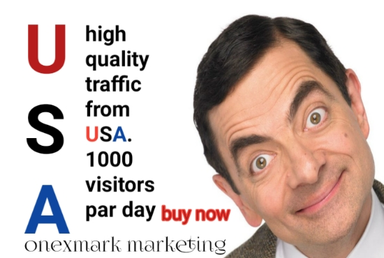 drive send USA UK high quality visitors in you site