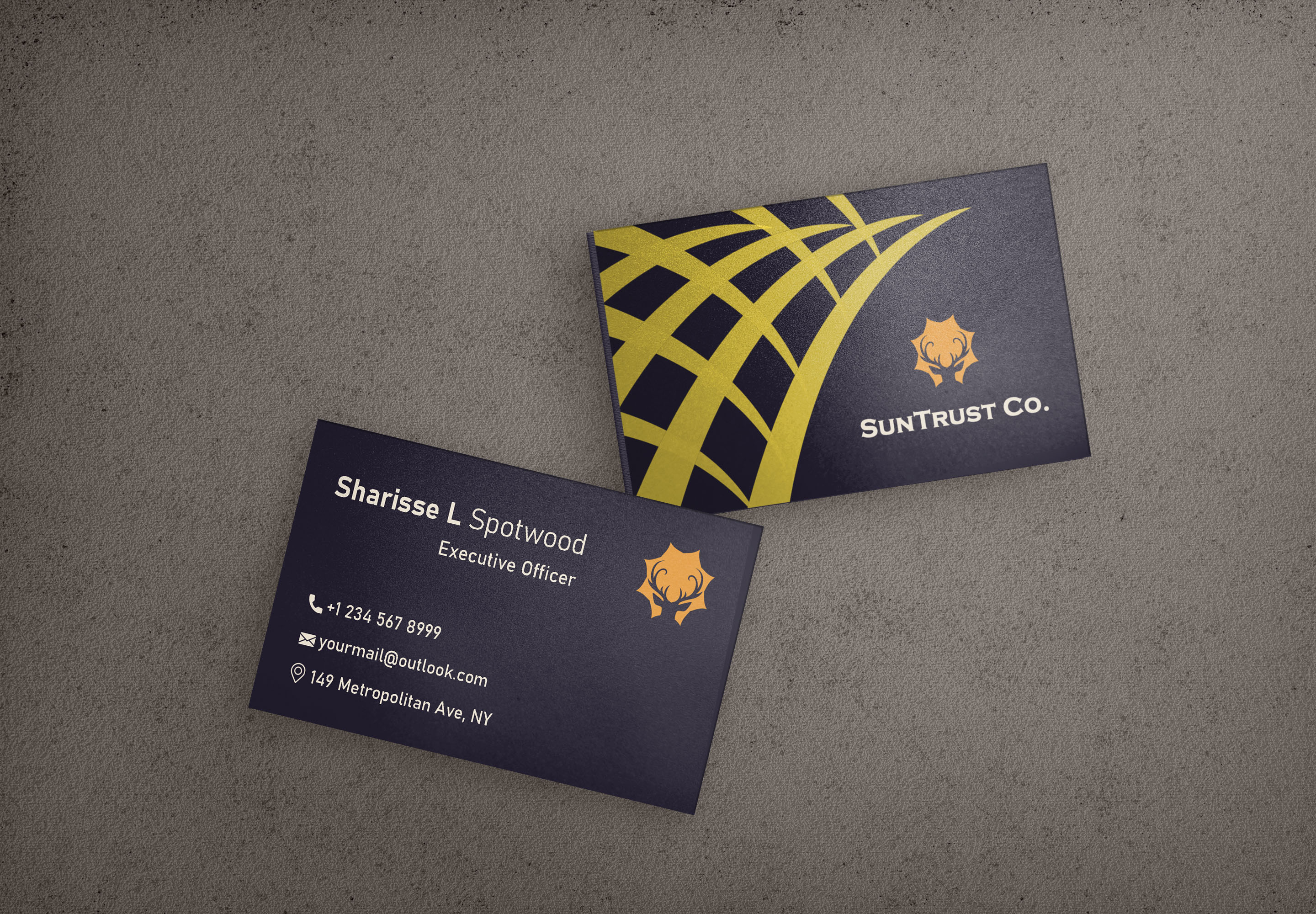 Professional Business and Visiting Card Design