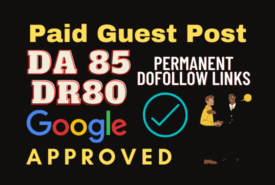 Paid Guest Post Da and Dr Increase.