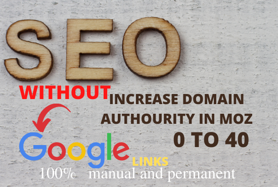 MOZ DA Domain Authority increase without redirect links.