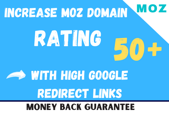 MOZ DR Domain Rating Increase.