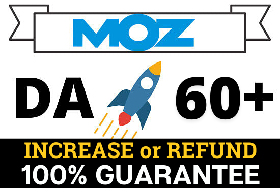 Increase Your website's MOZ DA 60+ safe ways and this MOZ domain authority will be permanent