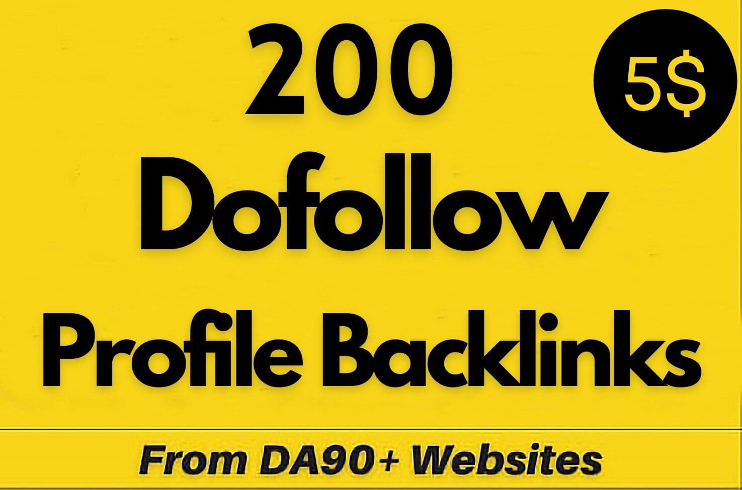 Manually 200 Backlinks Create DA 90 SEO Profile Backlinks,  link building,  Profile Backlink Creation