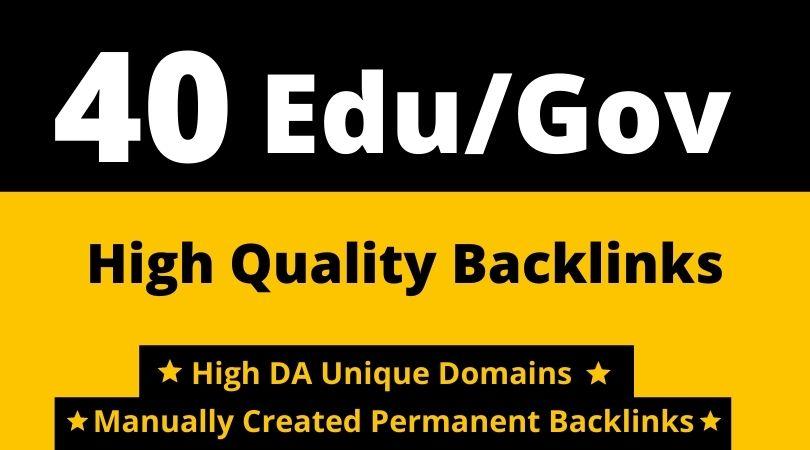 40 dofollow Edu/Gov Forum,  SEO Profile Backlinks,  Blog Comments