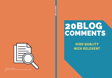Make 20 Manual Do-follow Blog Comments For SEO Backlinks