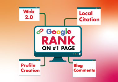 All in one package Web2.0,  Profile Backlinks,  Local Citation & Blog Comments