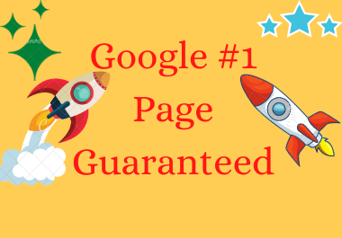 Dominate your website on Google 1st page