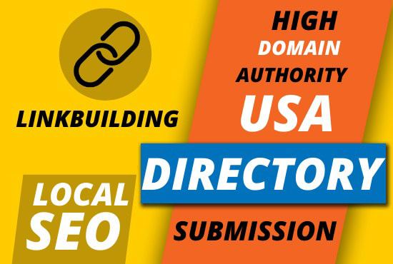 create 50 Plus USA local citations and directory submission