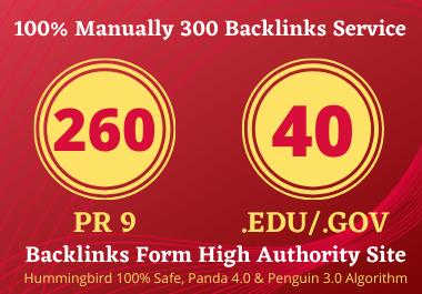 create 80+ DA pr9 260 profile backlink and 40. edu/. gov profile backlink