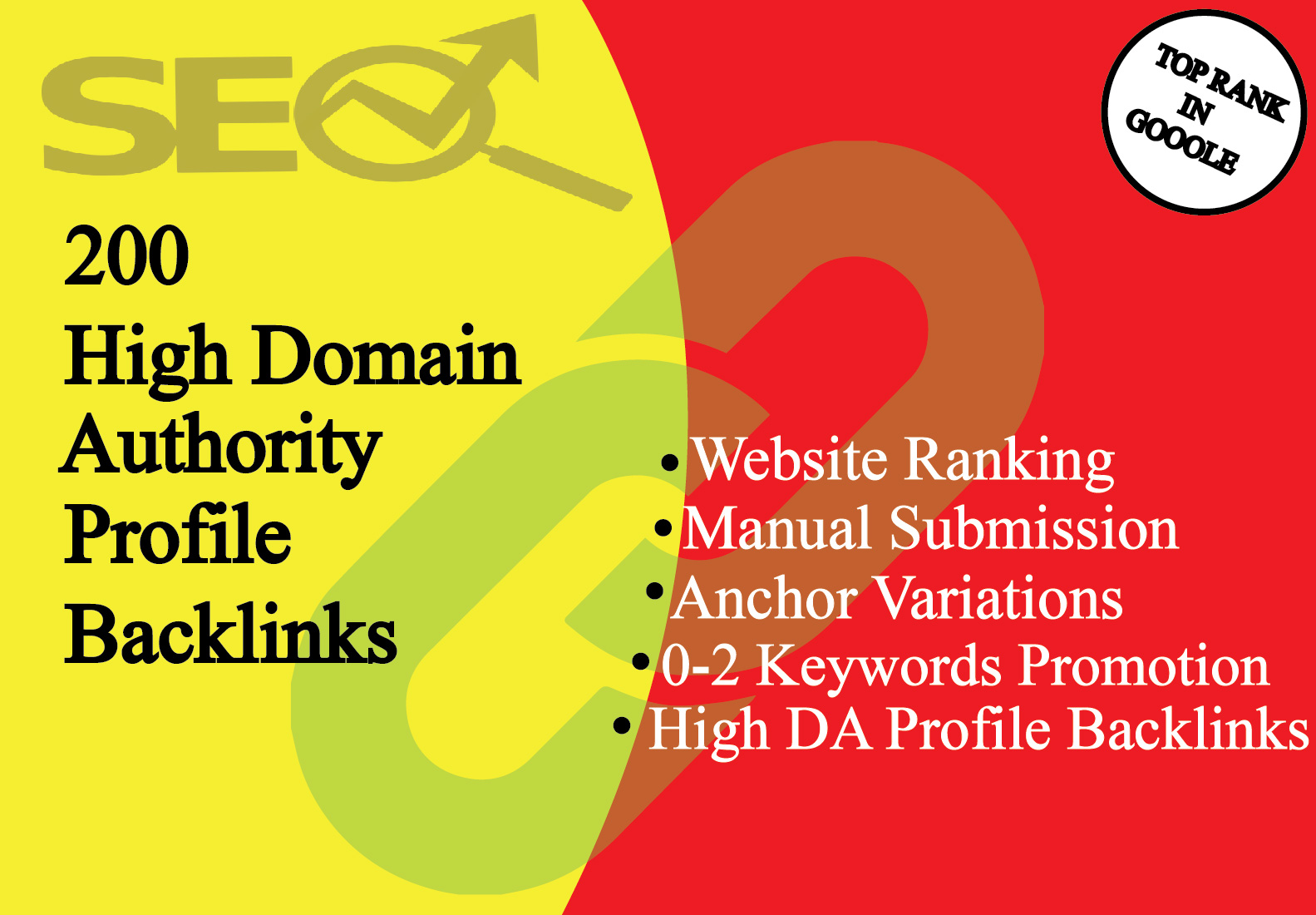 I Will Create 200 Manually High Quality Profile Backlinks With High DA Sites For SEO Ranking
