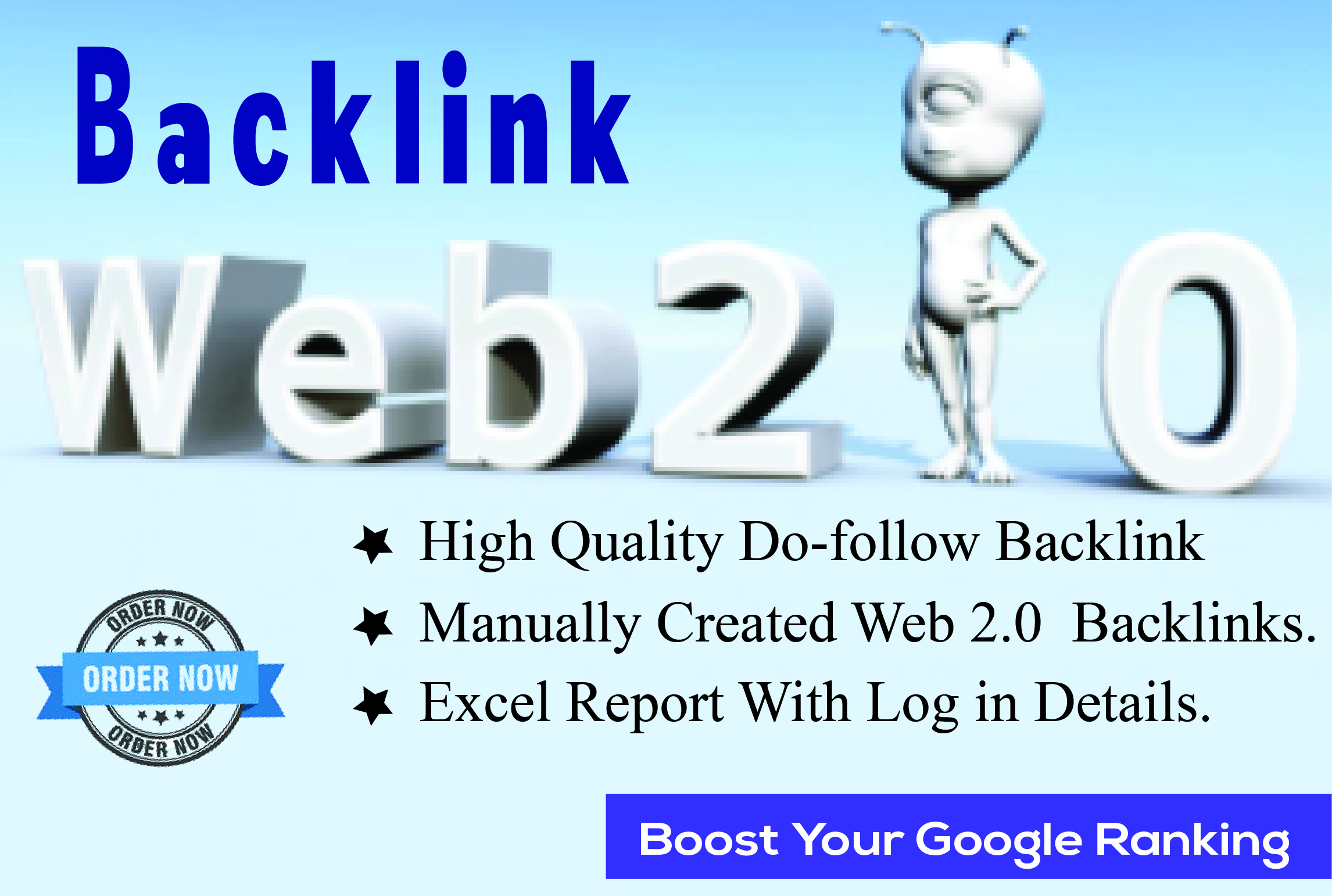 I Will Creation Web 2.0 Backlink For Your Website