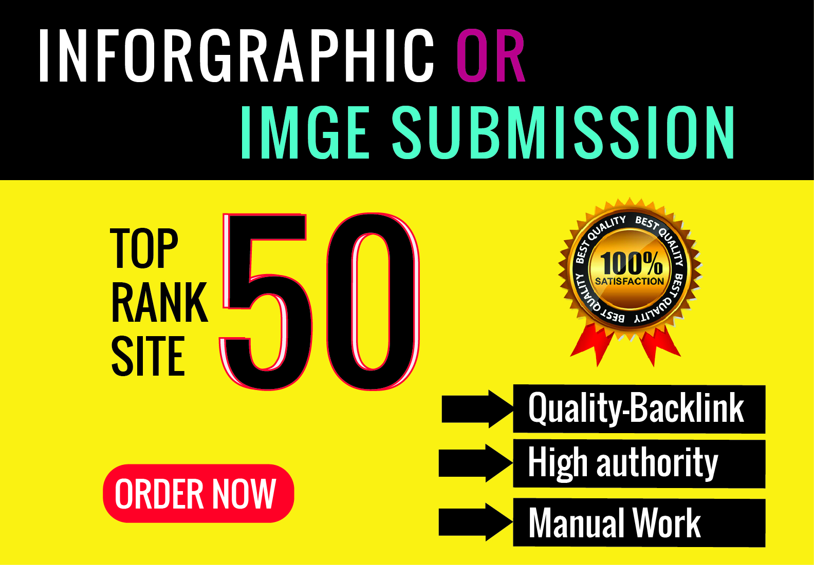 I Will Do Infographic Or Image Submission On High PR Photo-Sharing Sites