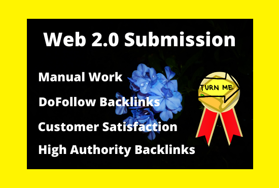I Will Build 20 High Quality Web 2.0 Backlinks Manually In Your Website