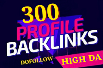 Exclusively-Google 1st Rank Boost With My 300 SEO Profile Backlinks