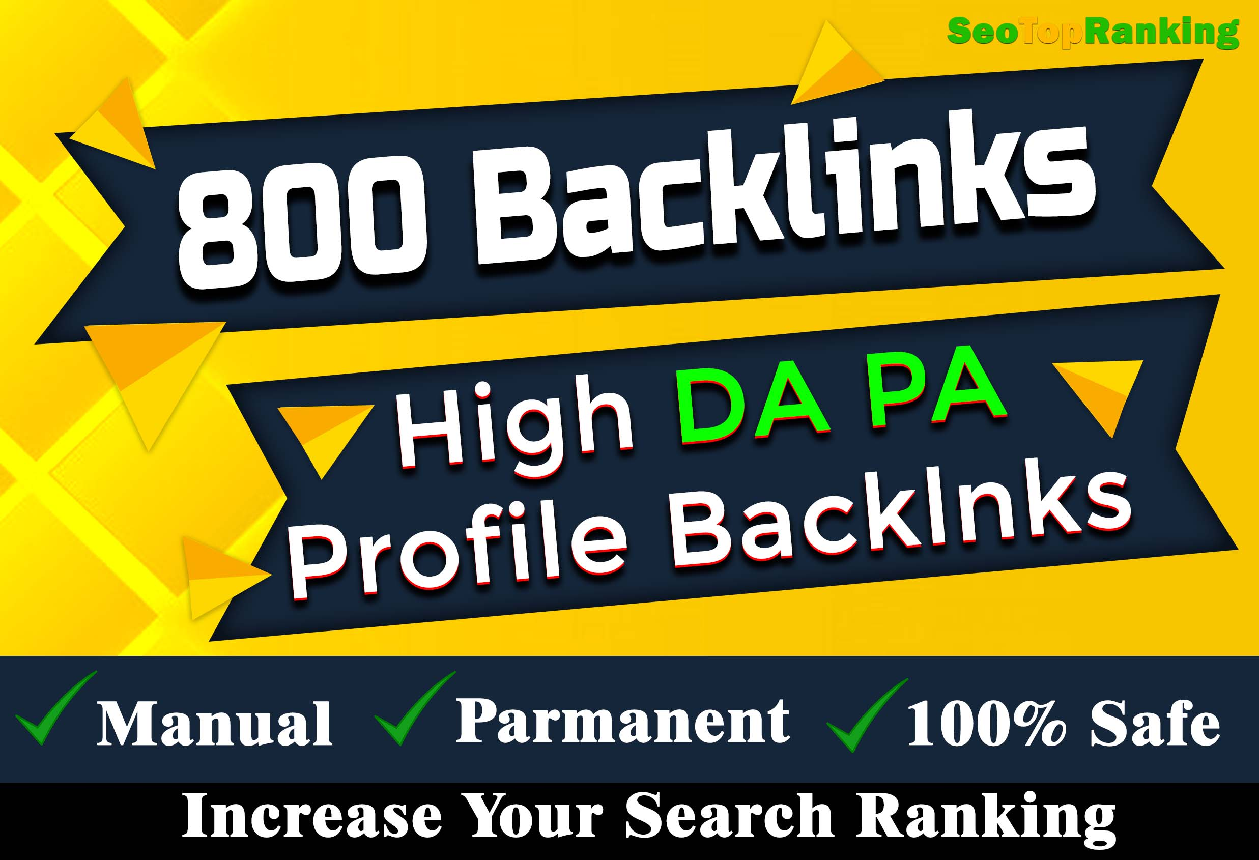 Manually 800 qualityfull profile backlinks DA 80+ SEO link building Service