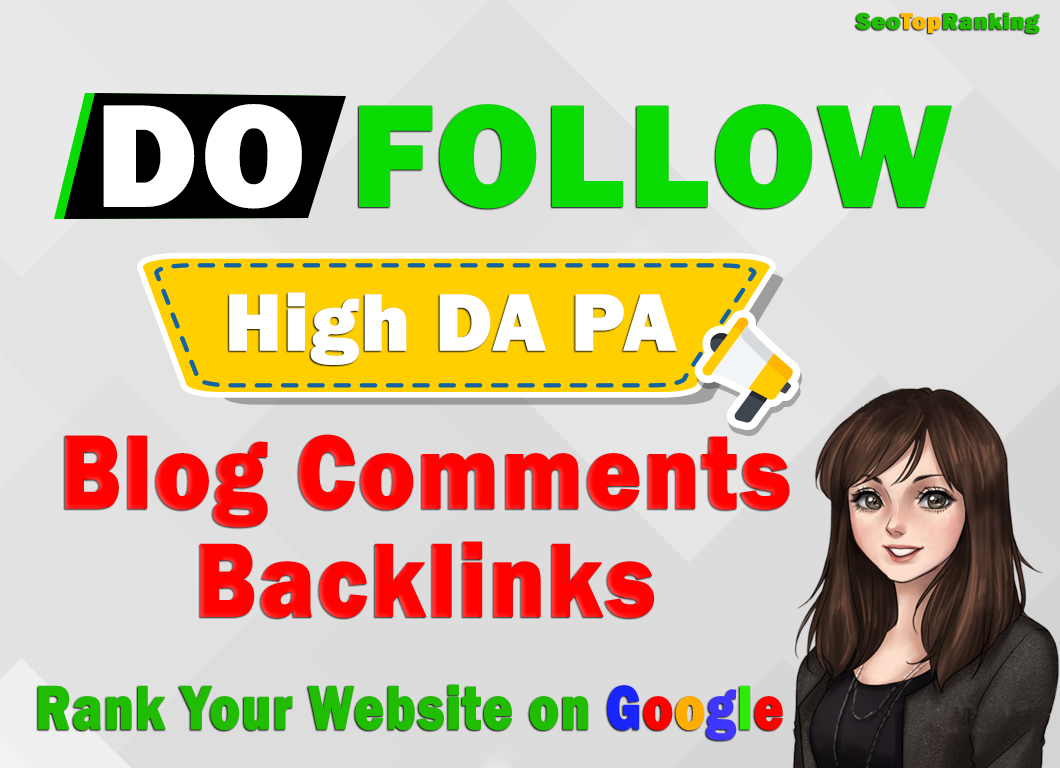 I will make 100 high quality niche related blog comments backlinks SEO service
