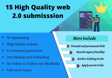 15 High Quality Web 2.0 Backlinks 2020