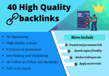 40 High Quality Permanent Profile Backlinks 2020 Updated Terms