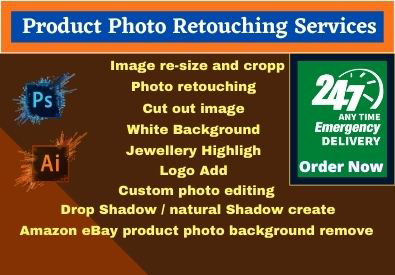 I will do jewelry image retouch, resizing, and cropping 5 Images