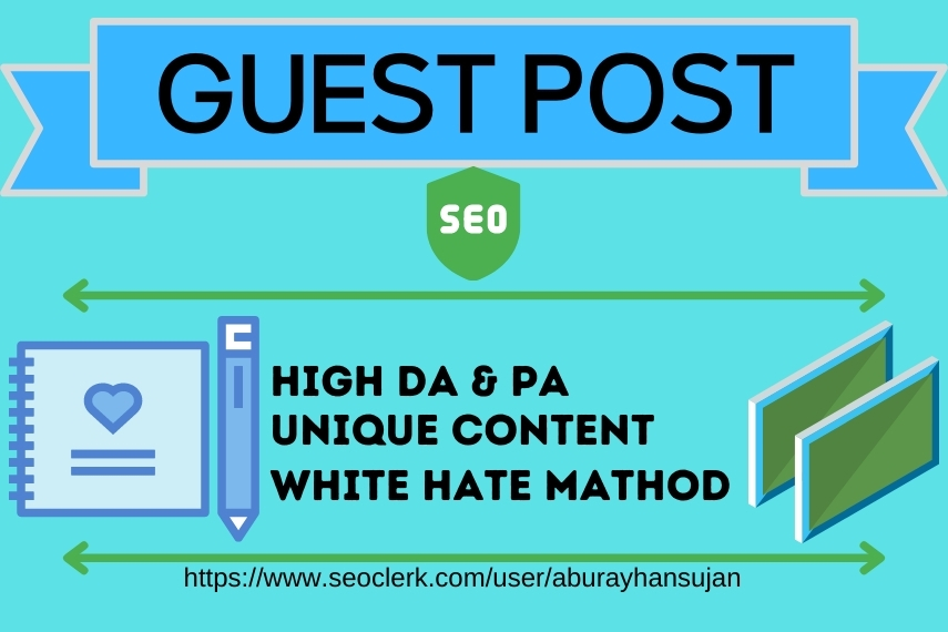 I will provide 5 DA Guest Post on google approved sites