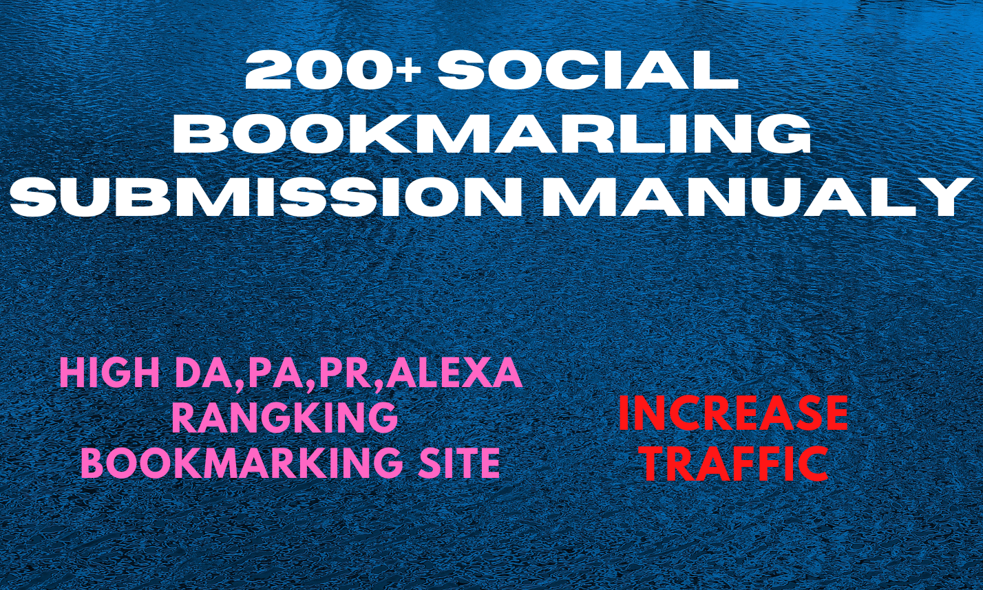 Social Bookmarking Your website URL