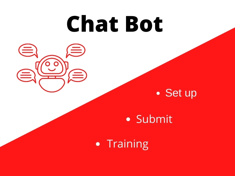 Chat bot setup to your service or business pages