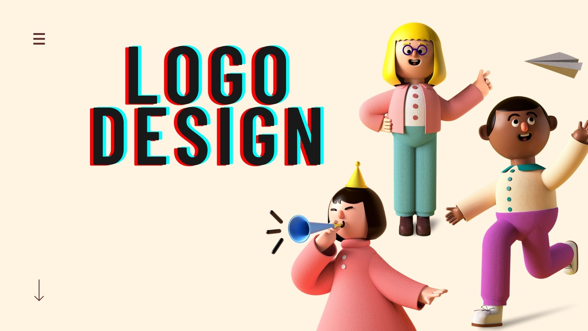 i will design professional eye catching logo for you