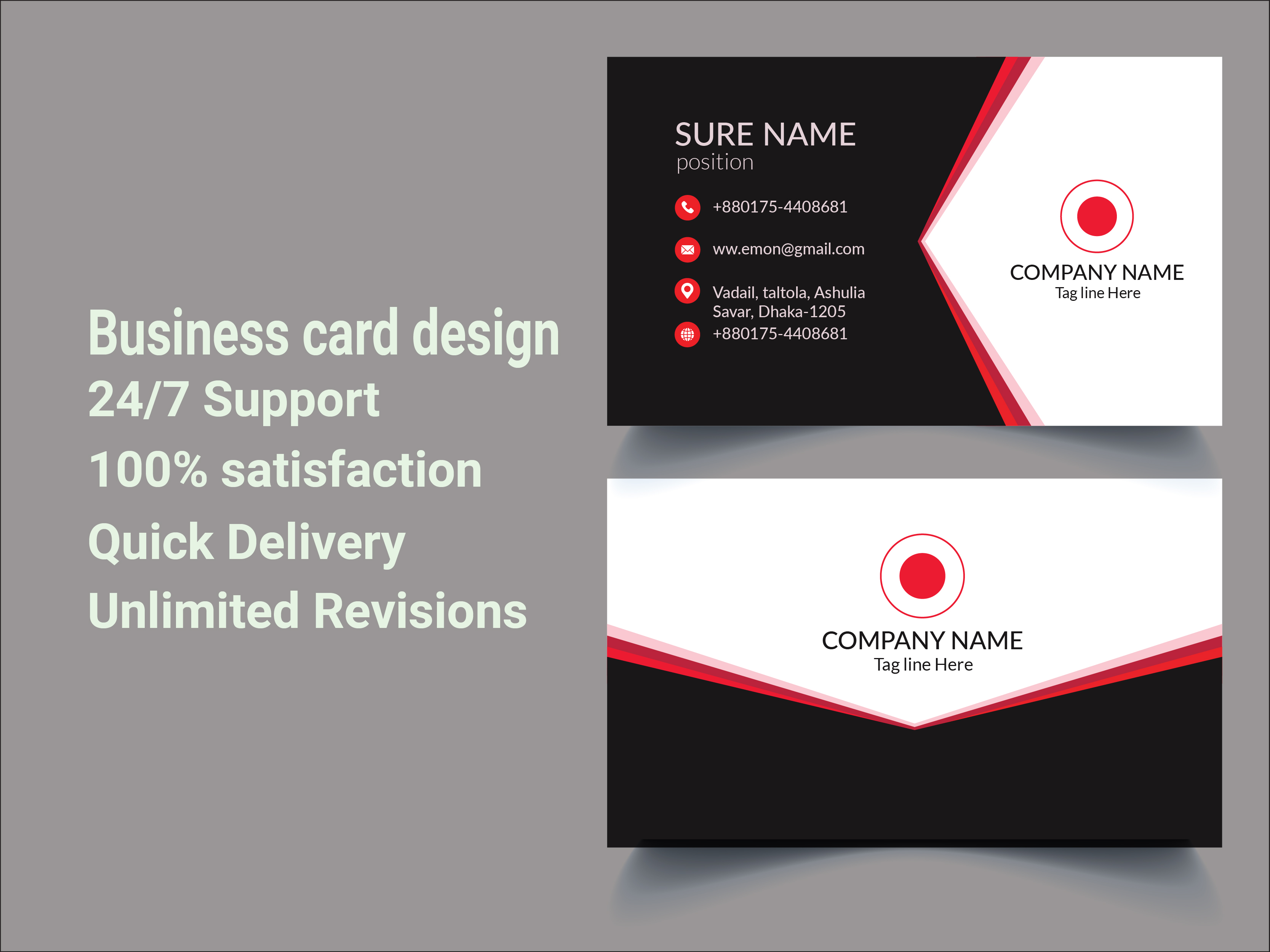 I will make Business or Visiting card Design