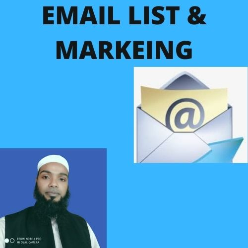 I will give you niche targeted valid and active email list